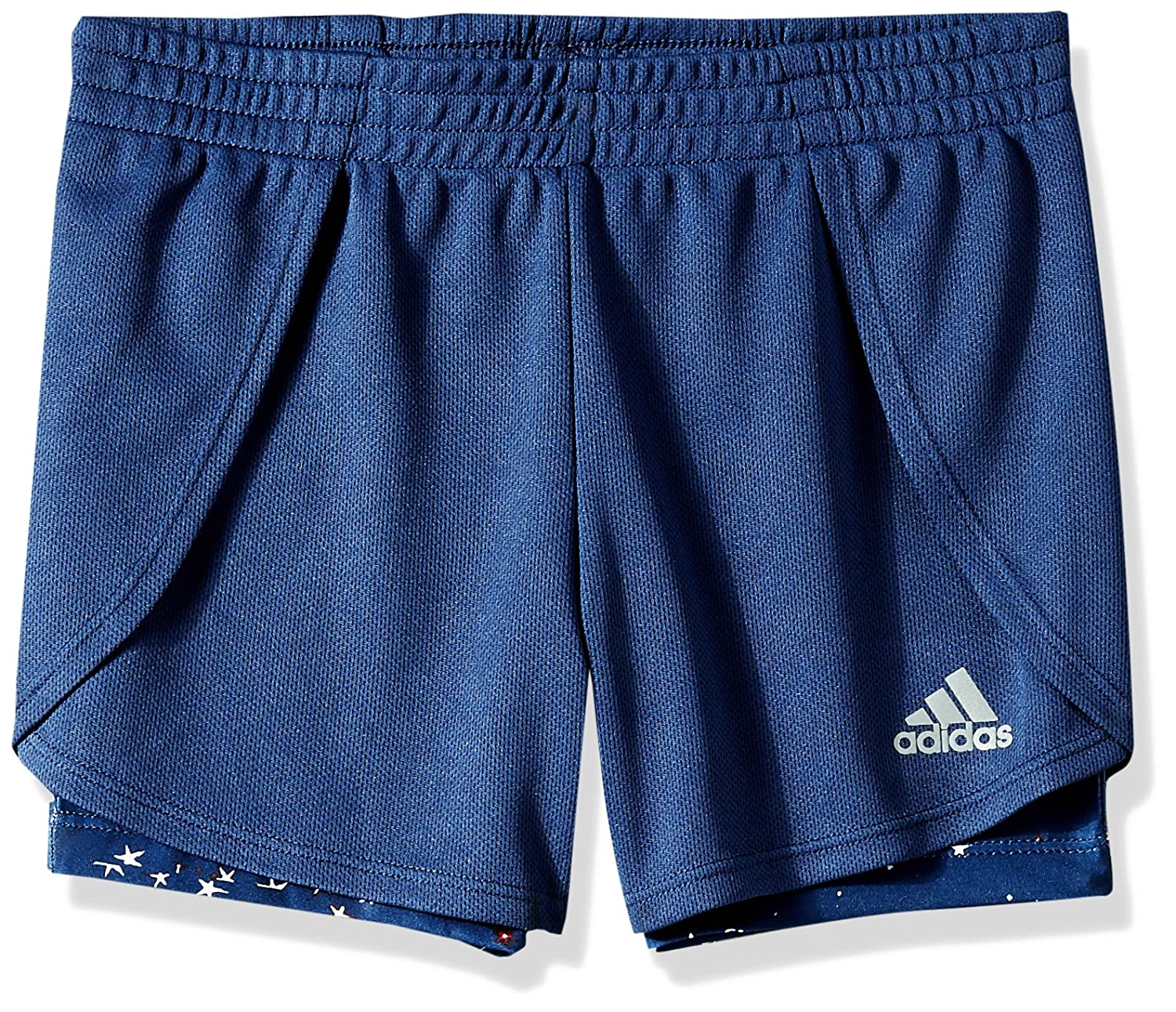 adidas Girls' Performance 2fer Short Adidas Boys 2-7 AH4157