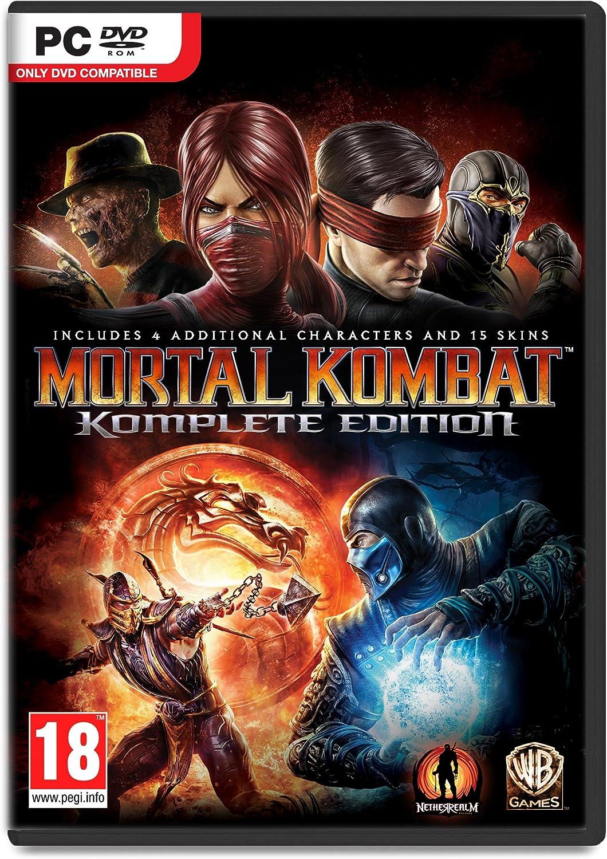 Mortal Kombat: Komplete Edition (PC DVD) [Importación Inglesa]: Amazon.es: Videojuegos
