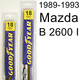 "product image for Mazda B 2600 I (1989-1993) Wiper Blade Kit - Set Includes 18"" (Driver Side), 18"" (Passenger Side) (2 Blades Total)"