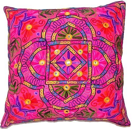 Flores Hojas Rosa Rangoli Mandala Multi Color Tamaño grande ...
