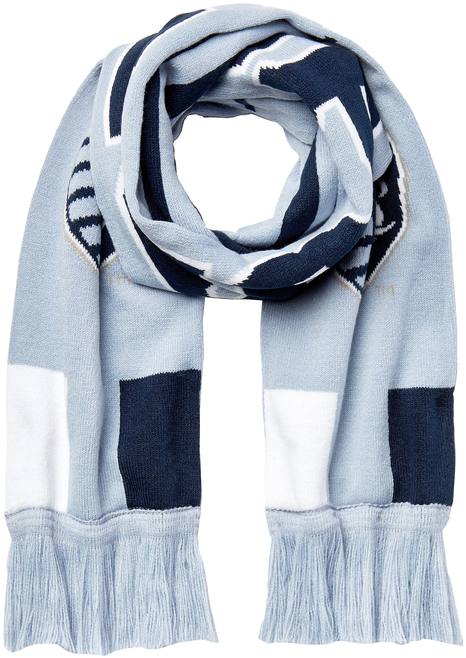 Outerstuff MLS Kansas City Sporting R S8FDV Youth Boys Fringe Scarf, One Size (8), Smoke Blue