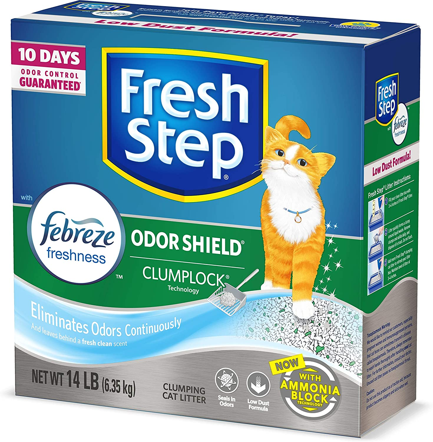 Fresh Step Clumping Cat Litter with Febreze Freshness Image