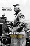 Erich von Manstein. Mémoires