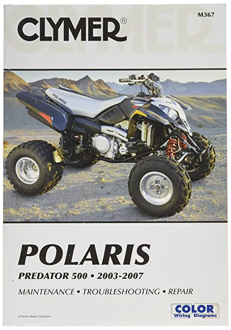 amazon com clymer m367 repair manual automotive rh amazon com 2004 polaris predator 500 repair manual polaris predator 500 workshop manual