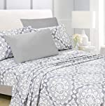 American Home Collection 6 Piece Bed Sheet Set Super Soft Brushed