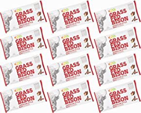 DNX Bar-Grass Fed Bison Whole Food Protein Bar - Jamaican Style Whole30 Approved Organic Fruits and Veggies, Gluten Free, Non-GMO, No Dairy, Paleo Meat Bar Truly Epic Taste (12 Bars)