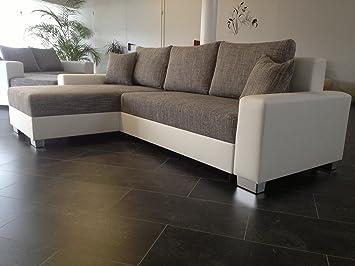 OVP NEU L 260cm Big Sofa COuch Wohnlandschaft megasofa Bettsofa ...