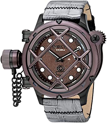 Invicta Men's 16366 Russian Diver Analog Display Mechanical Hand Wind Two  Tone Watch