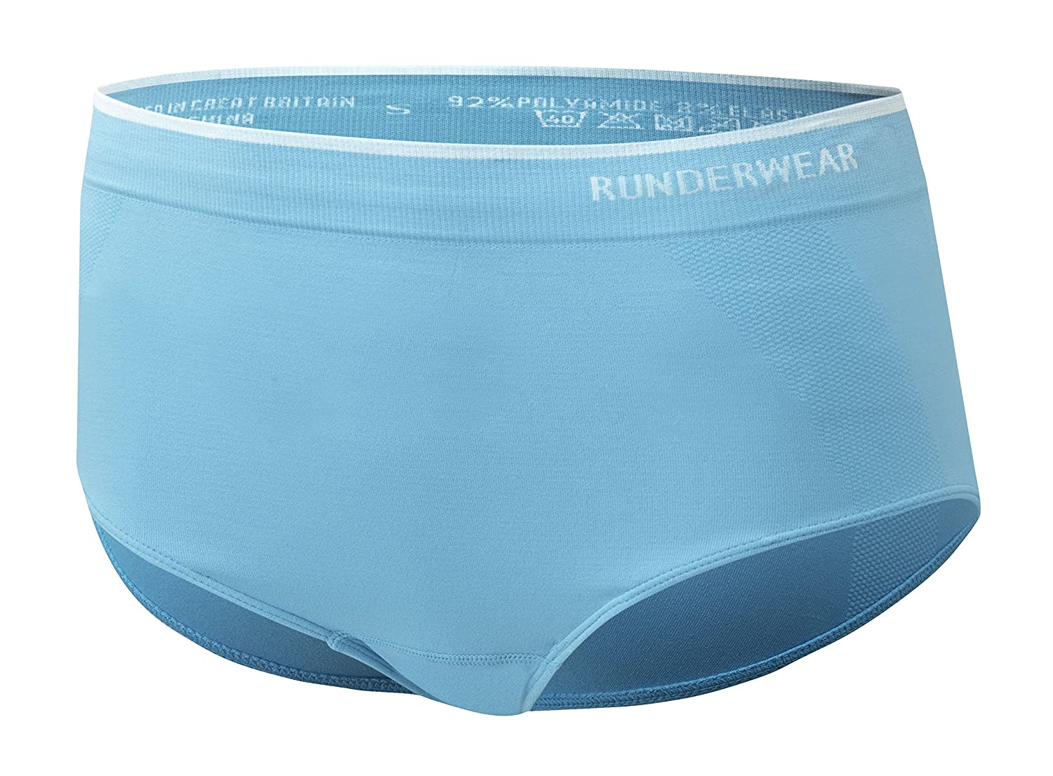 Runderwear Women's Briefs | Seamless, Chafe-Free Performance Running Underwear wmensrunbrf_blk