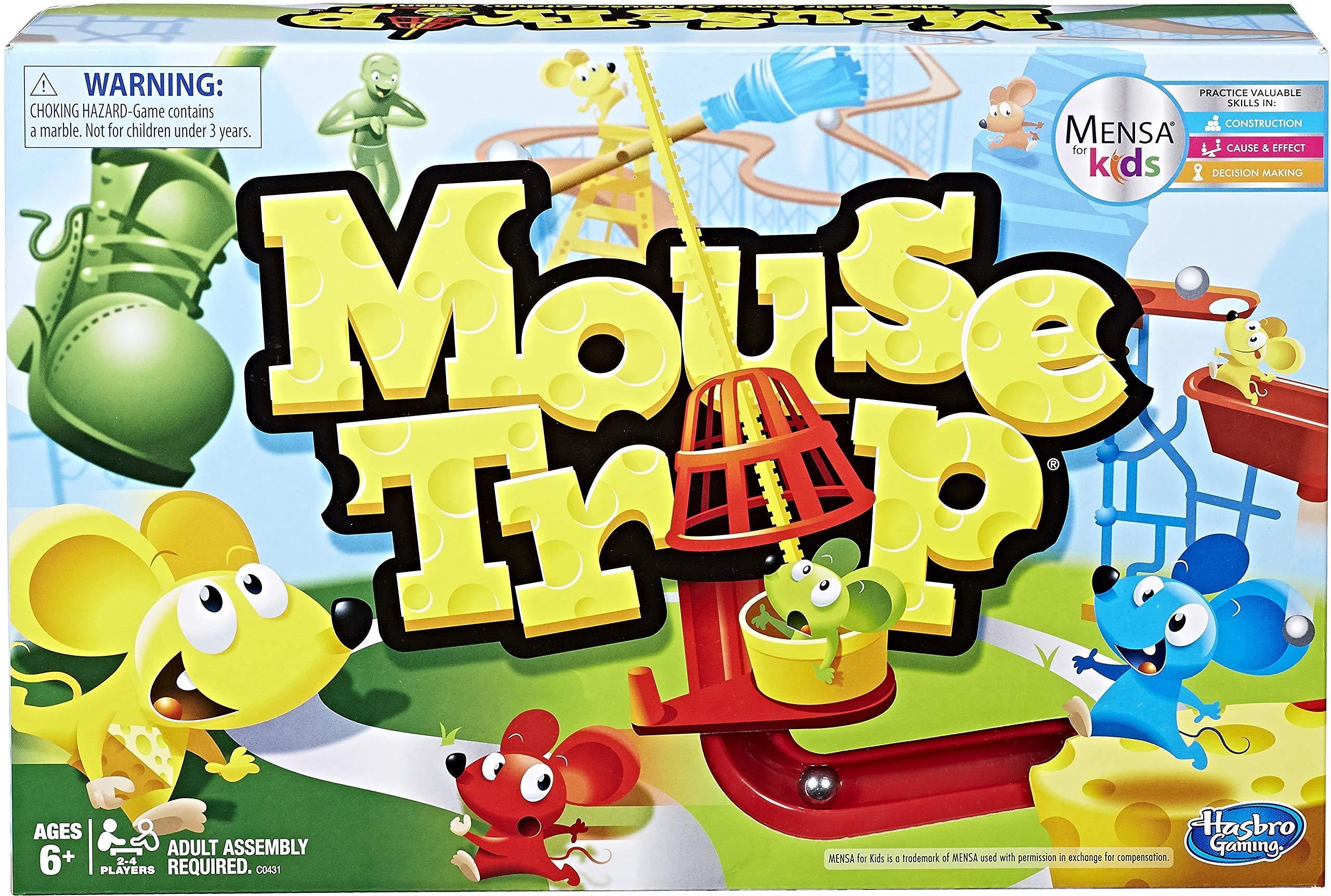 Hasbro Gaming Mouse Trap Game by Hasbro Gaming