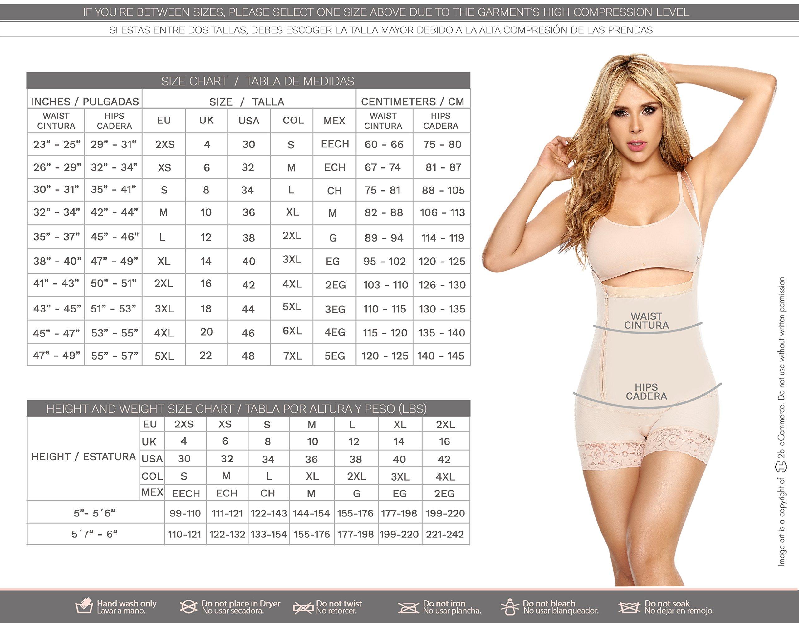 456701090 LT.ROSE 21996 Women Butt Lifter Shorts