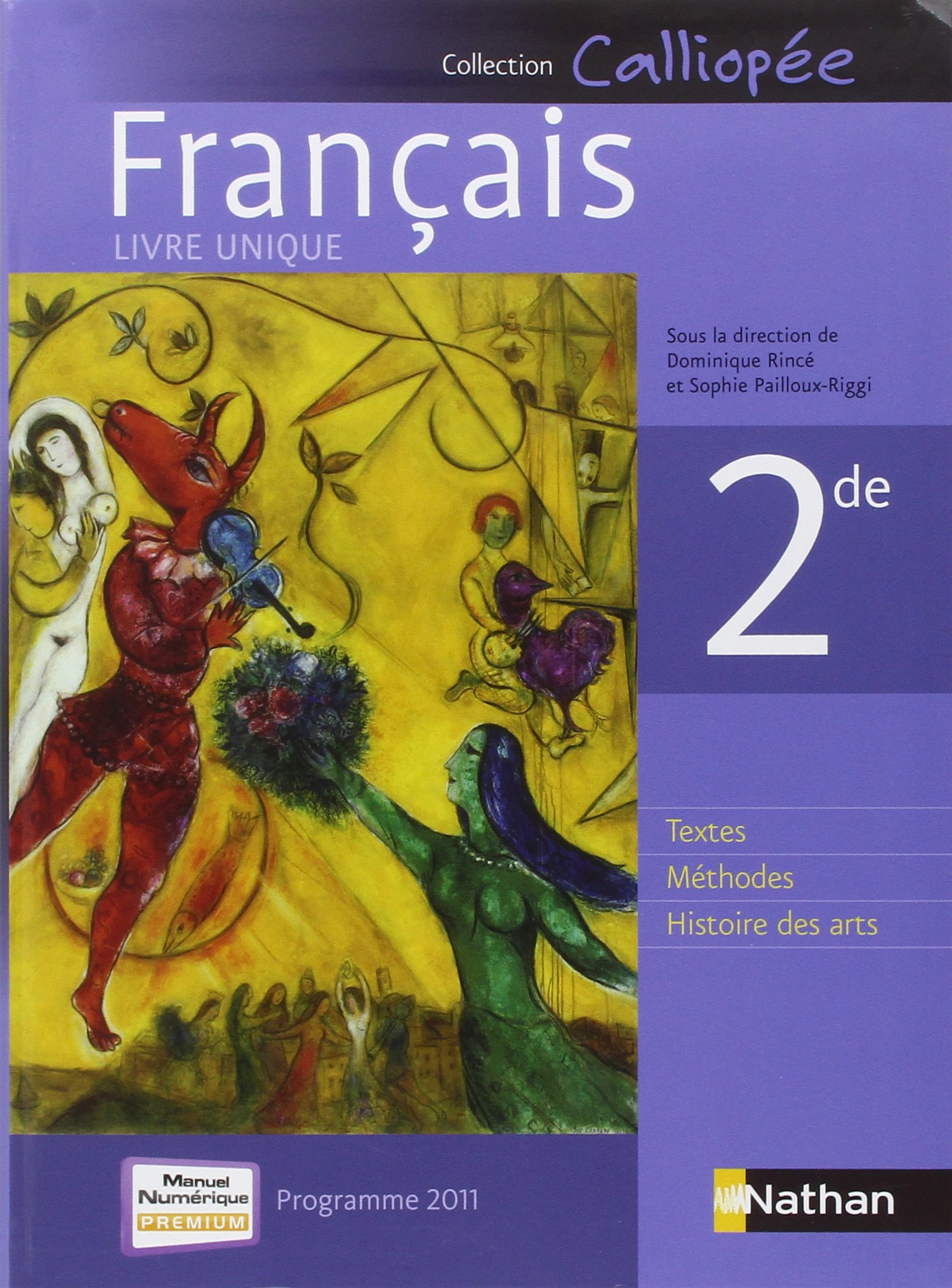 Frana Ais 2de Programme 2011 French Edition