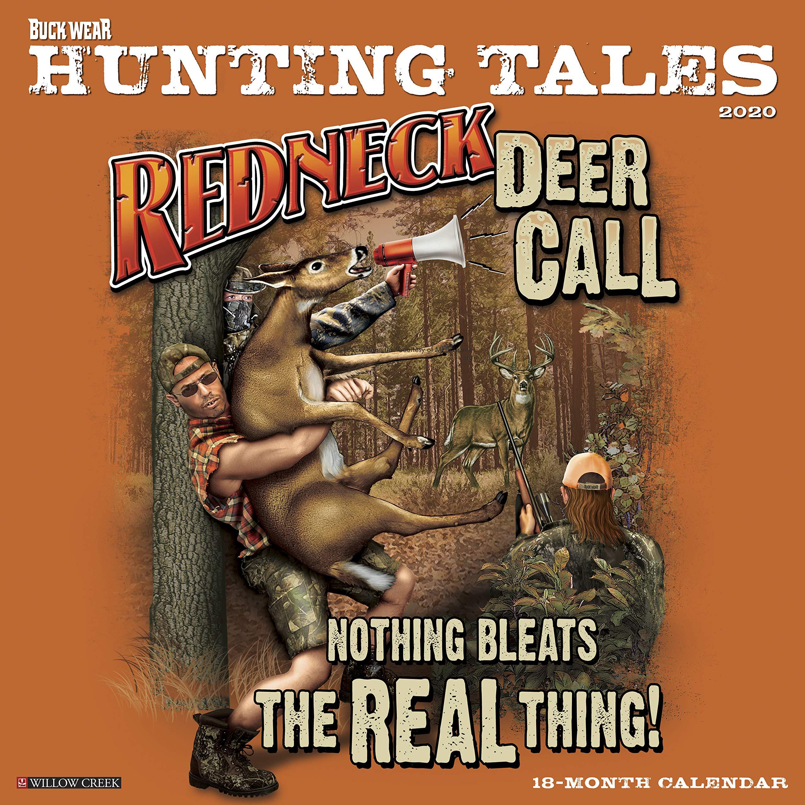 Hunting Calendar 2020 Buck Wear's Hunting Tales 2020 Wall Calendar: Buckwear