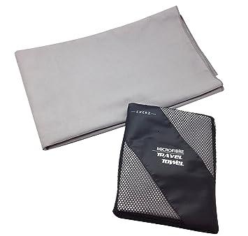 EXERZ Microfibra Extra Grande XL Toalla para Viaje / Toalla para Deporte (150 x 85