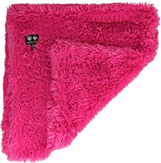 """product image for Bessie and Barnie Lollipop Luxury Shag Ultra Plush Faux Fur Pet, Dog, Cat, Puppy Super Soft Reversible Blanket (Multiple Sizes), LG - 56"""" x 36"""""""