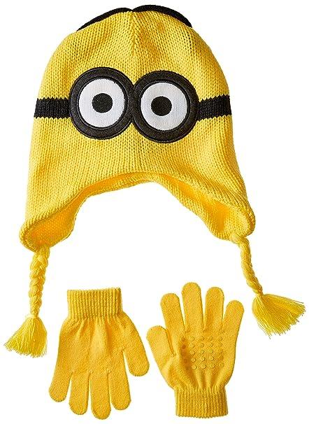 Amazon.com  Despicable Me Boys  Little Reversible Laplander and Glove Set 200a9ddac7ae