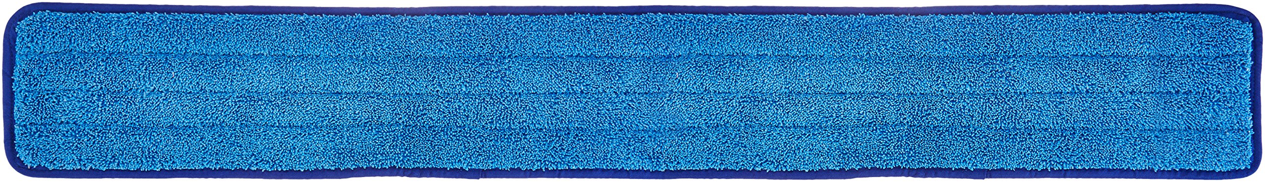 AmazonBasics Microfiber Damp Mop Cleaning Pad, Plain, 36 Inch, 12-Pack by AmazonBasics
