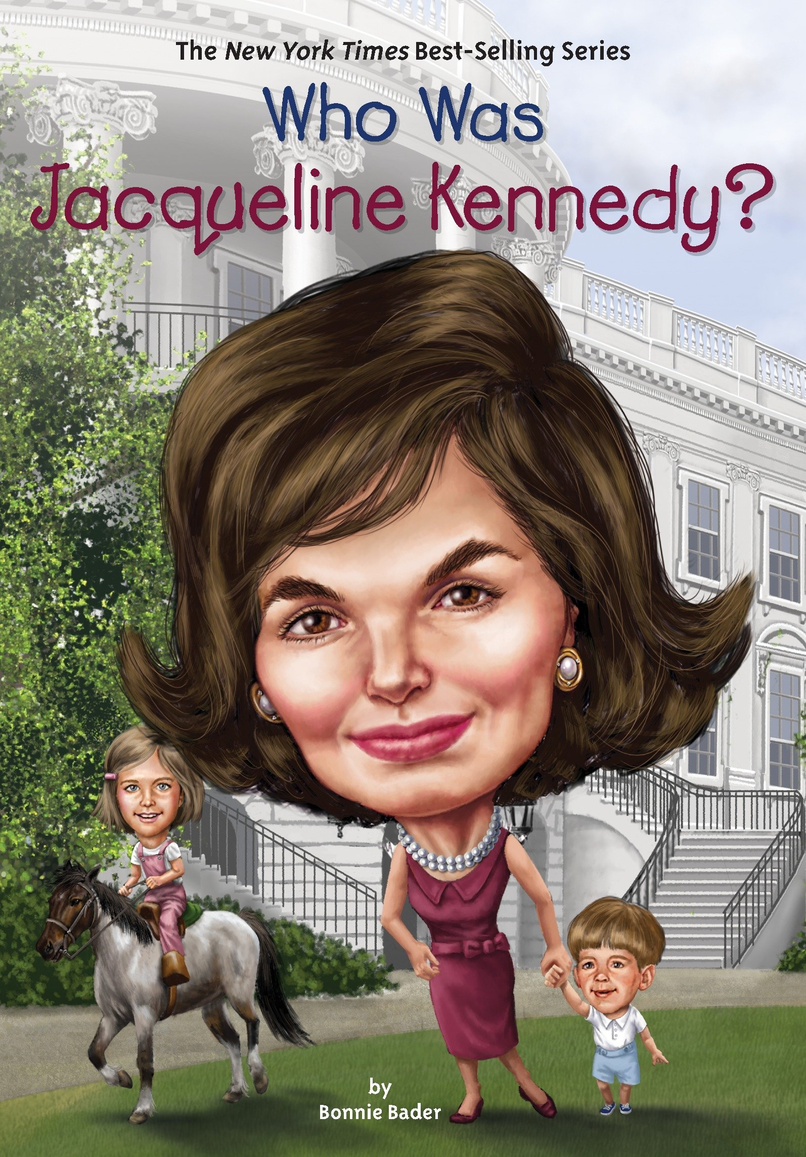 Who Was Jacqueline Kennedy? Paperback – December 6, 2016 Bonnie Bader Who HQ Joseph J. M. Qiu Penguin Workshop