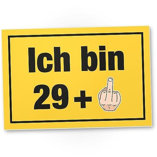 DankeDir!. Ich Bin Ahora 30 años, plástico Cartel - 30 ...