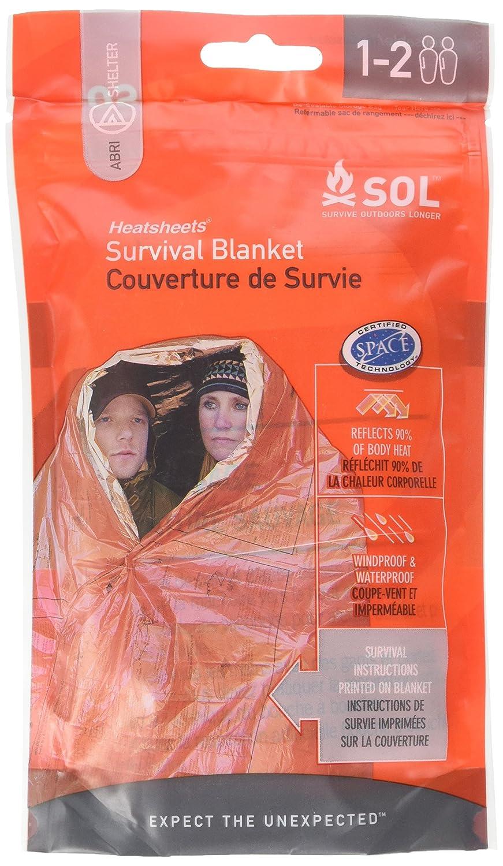 Adventure Medical Kit Essentials Couverture de survie Heatsheets Adventure Medical Kits 0140-0701