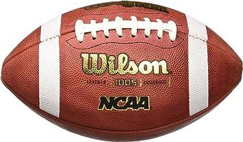 Wilson NCAA 1005 Traditional - Balón de fútbol Americano, Color ...