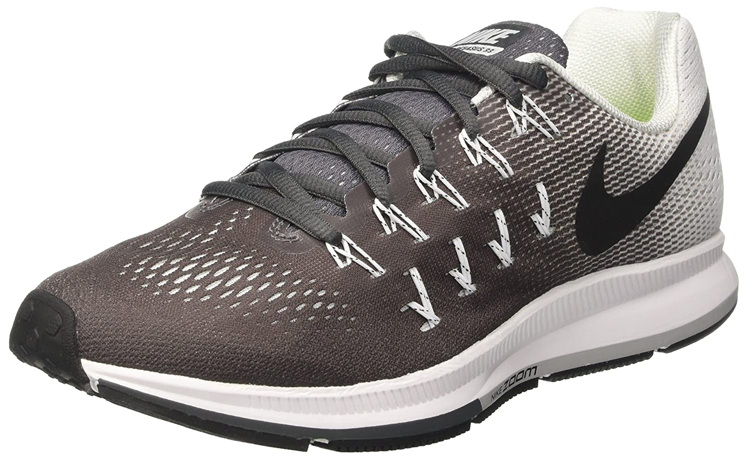 info for 3e26f 689df Nike Men's Air Zoom Pegasus 33, Dark Grey / Black - White - 9 D(M) US
