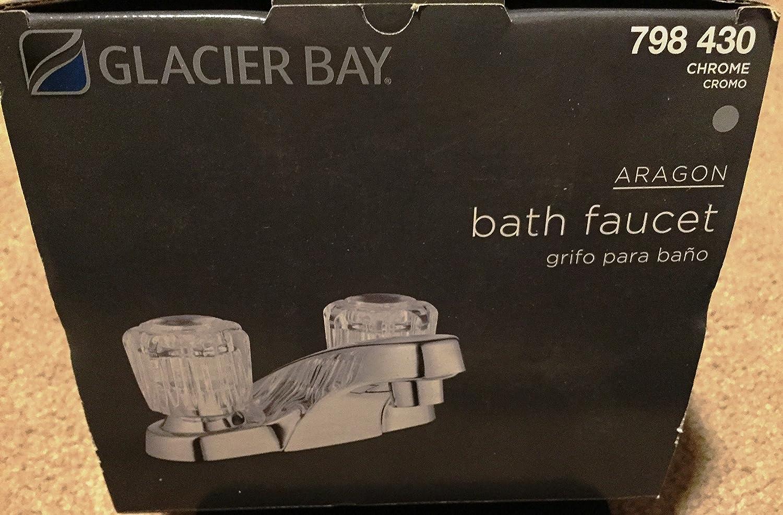 Aragon 4 in. Centerset 2-Handle Low Arc Bathroom Faucet Less Pop-Up ...