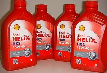 Aceite para motores de gasolina y diésel