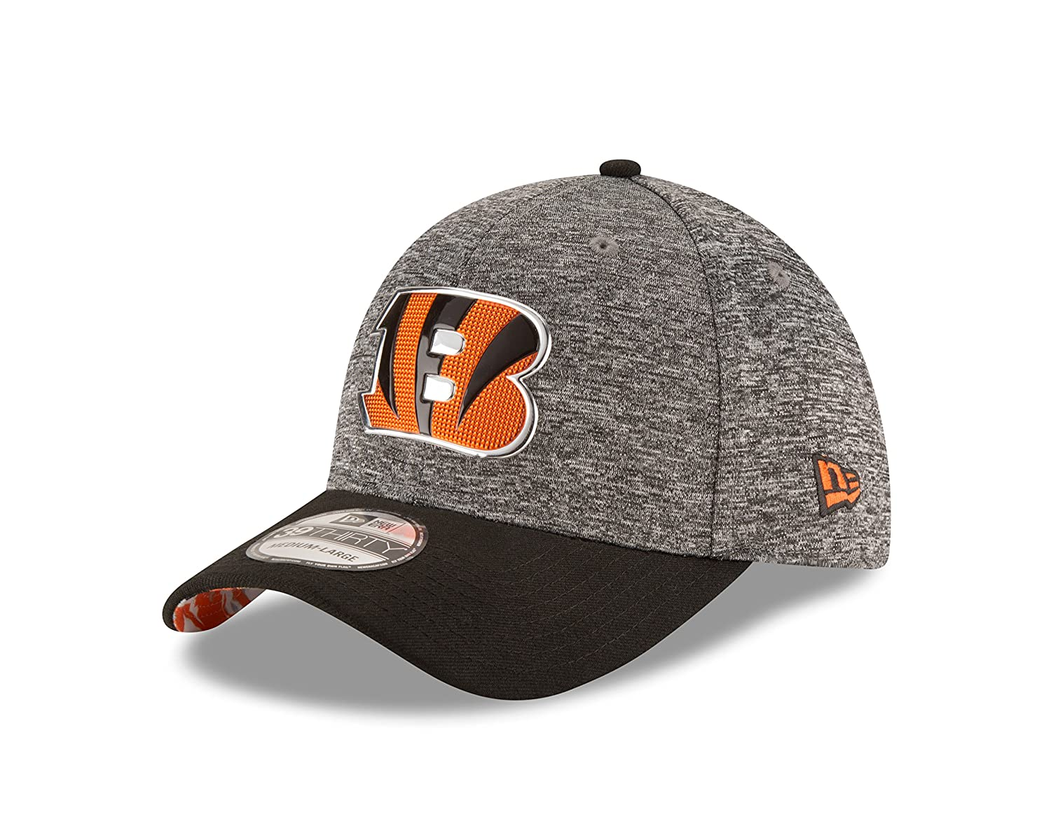 newest c1f40 e9e9f ... 59fifty structured fitted hat d8a42 8699e  switzerland amazon new era  nfl cincinnati bengals 2016 draft 39thirty stretch fit cap medium large  heather