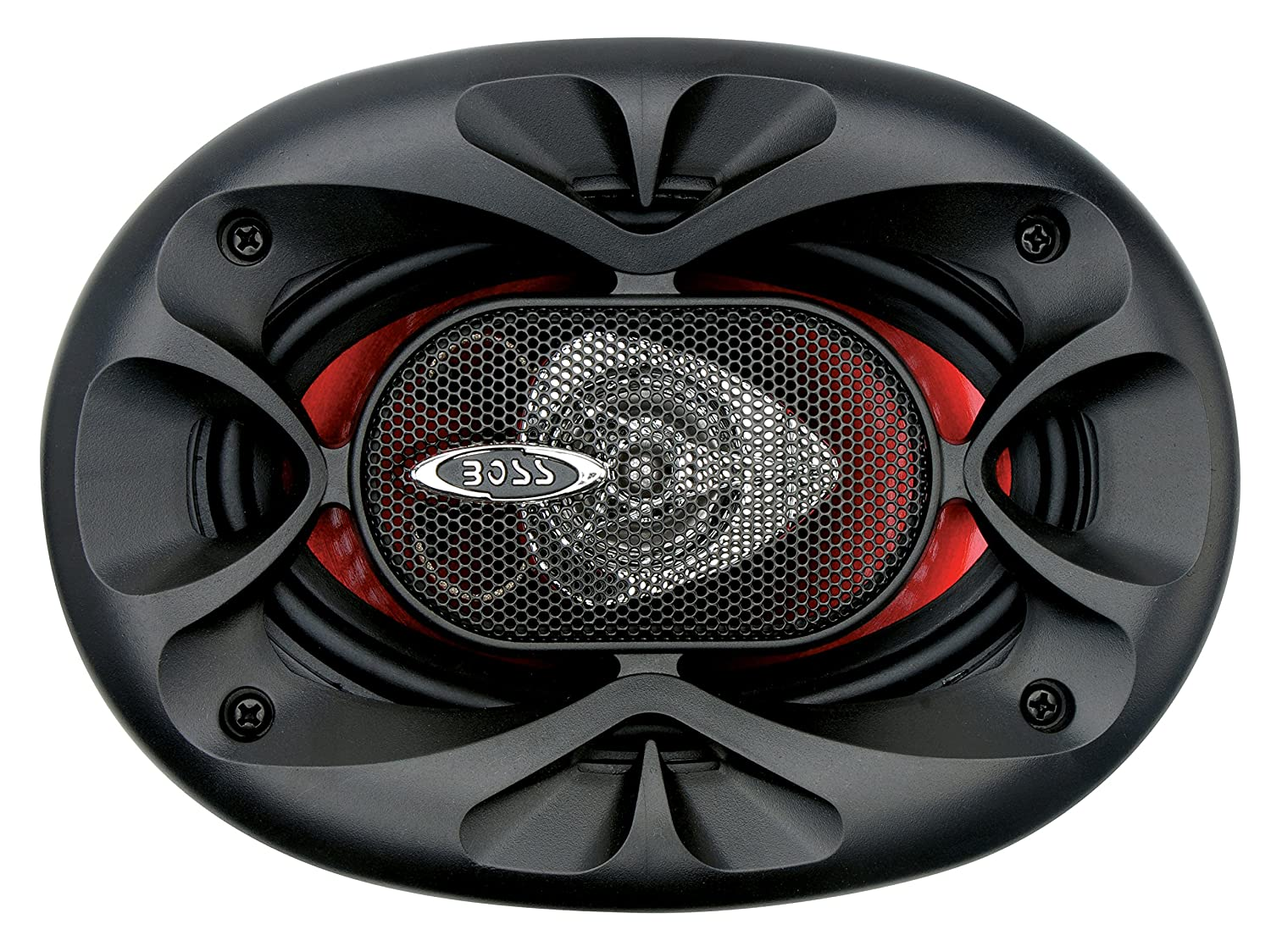 Pack of 2 Boss Audio Chaos Series 4x6 inch 2 Way Speaker