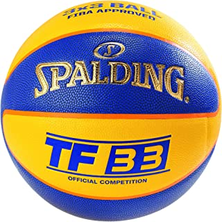Spalding TF33OFFICIAL Game Ball I/O SZ6 (76-257Z) Basketballs, Jeunesse Unisexe, Multicolore, 6
