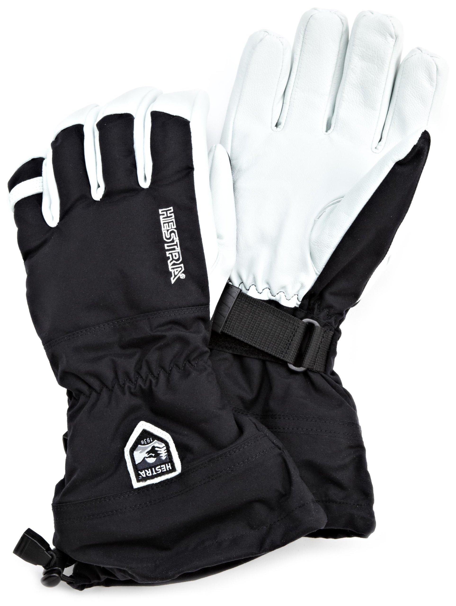 Hestra Heli Glove (Black, 10) by Hestra