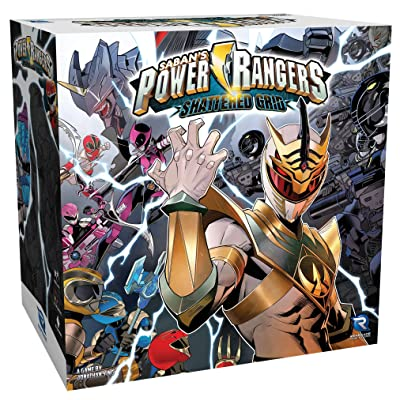 Power Rangers: Heroes of The Grid Shattered Grid Expansion: Toys & Games