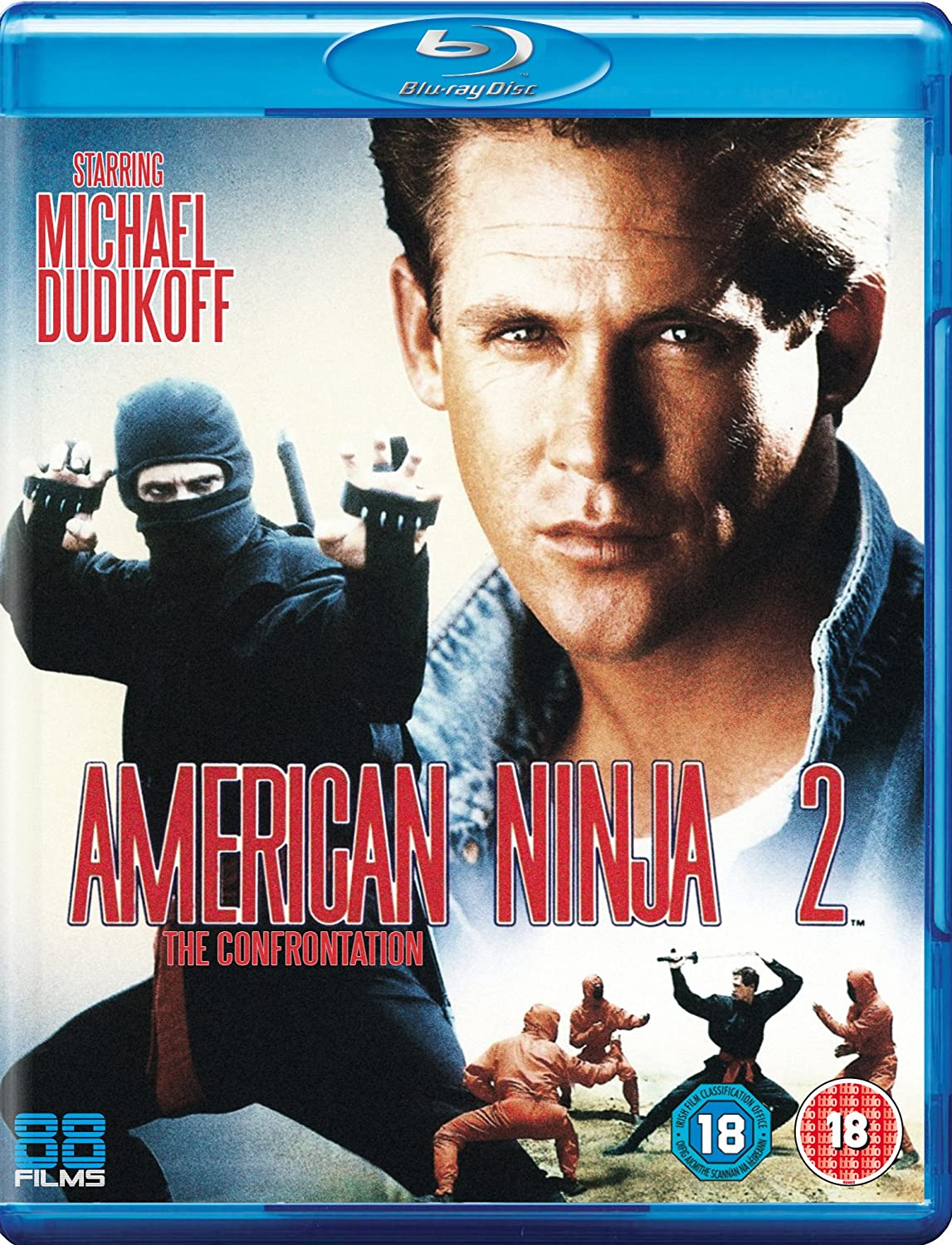 American Ninja 2: The Confrontation Blu-ray Reino Unido ...