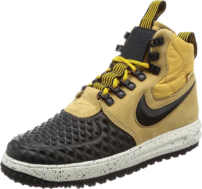 Nike 916682 701: Men's LF1 Duckboot '17 Metallic GoldBlack Vast Sneakers (9.5 D(M) US Men)