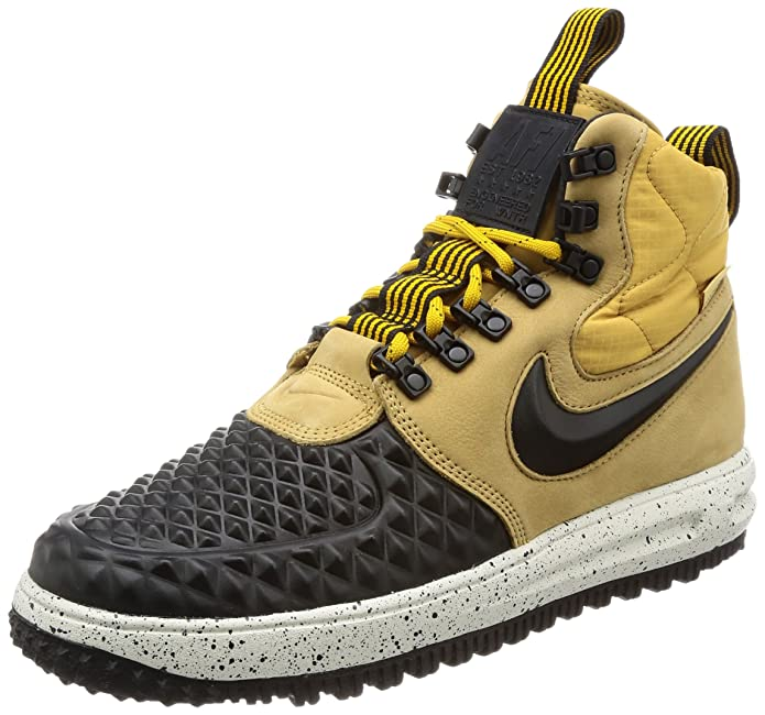 huge selection of c344c 0ffe8 Amazon.com   Nike Lunar Force 1 Duckboot Mens Boots   Tennis   Racquet  Sports