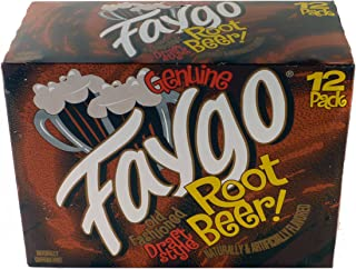 product image for Faygo Old Fashioned Draft Style Root Beer - 12 Pack of 12-oz. Cans