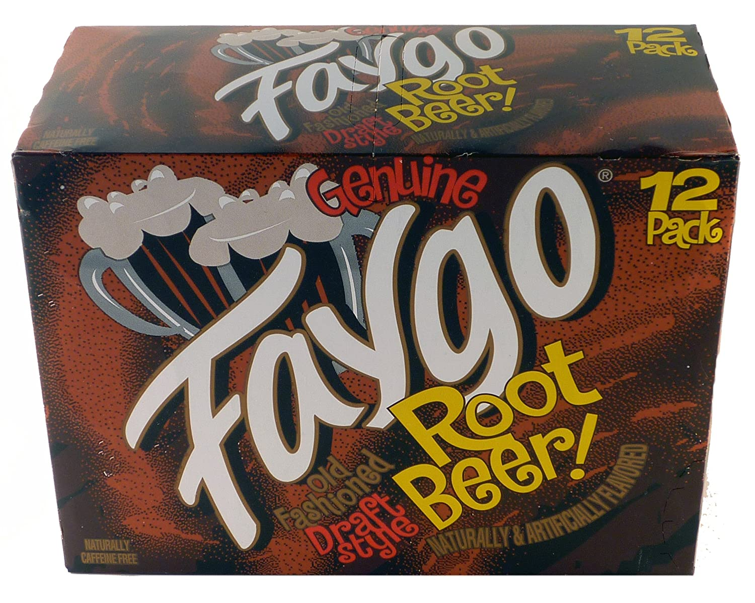 Faygo Old Fashioned Draft Style Root Beer - 12 Pack of 12-oz. Cans