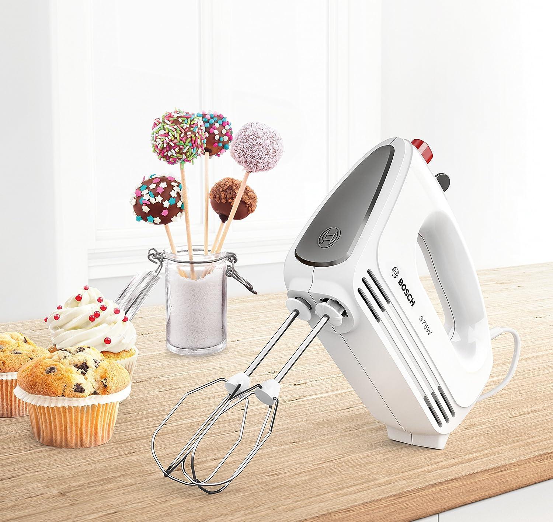 Bosch MFQ22100 Hand mixer 375W Gris, Color blanco - Batidora (Hand mixer, Gris, Color blanco, 375 W): Amazon.es: Hogar
