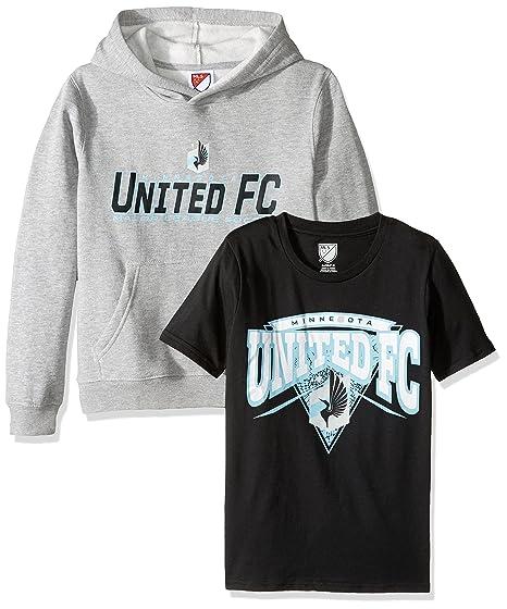 newest b159d 92ec9 MLS Brand MLS Youth Boys 8-20 Toronto Fc Tee & Hood Set, XL(18), Assorted