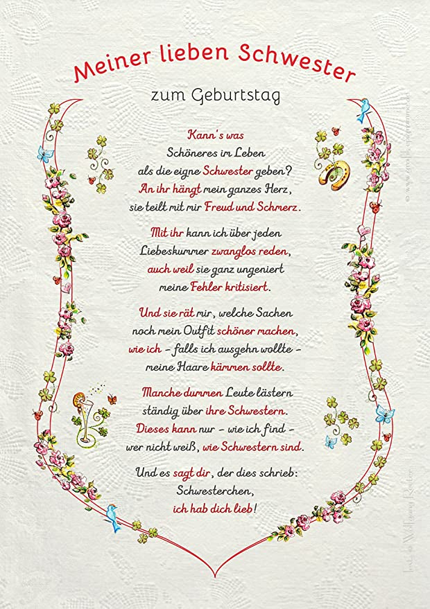 Die Staffelei Geschenk Geburtstag Urkunde Meine Liebe