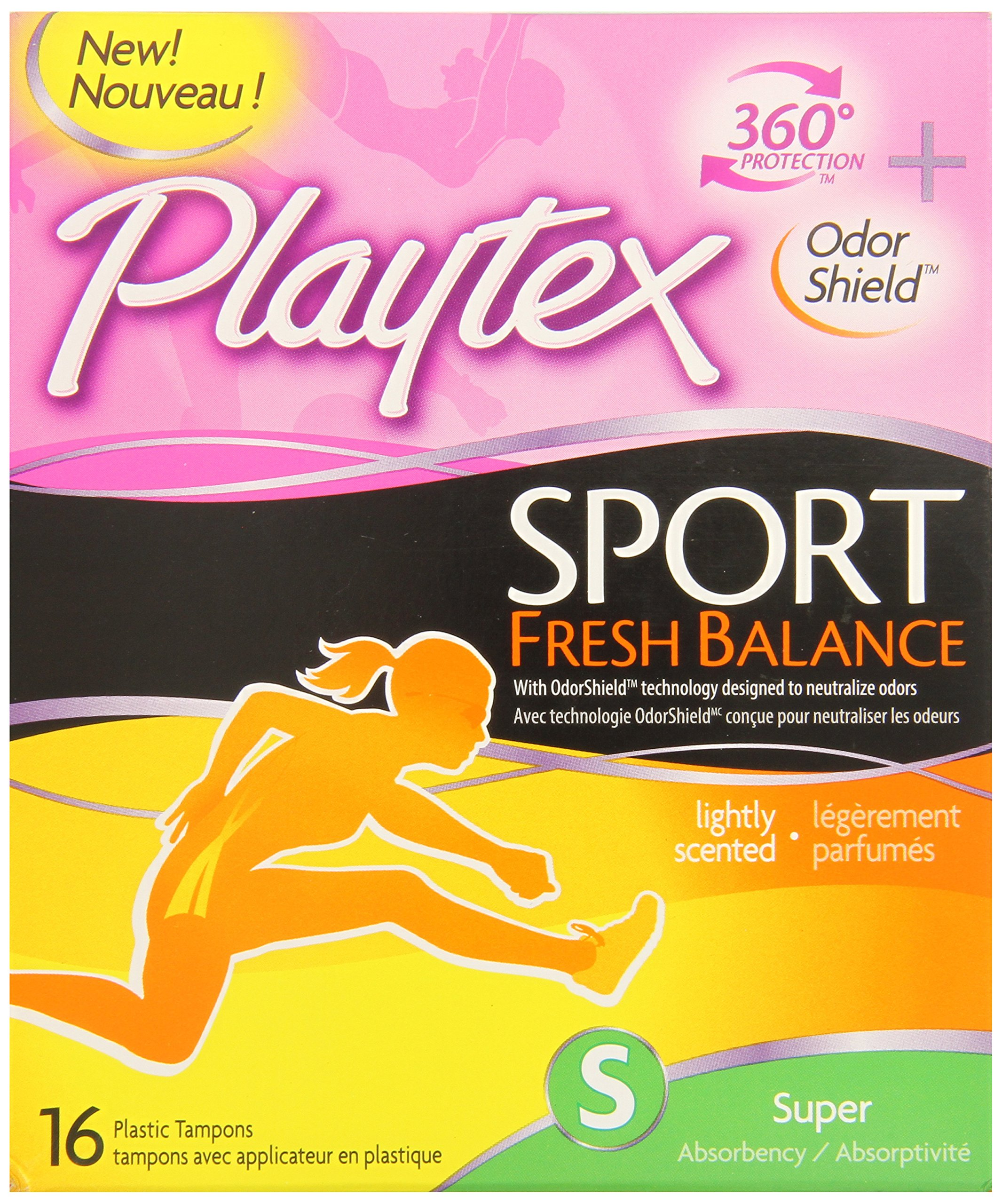 Amazon Com Playtex Sport Fresh Balance Tampons With Odor