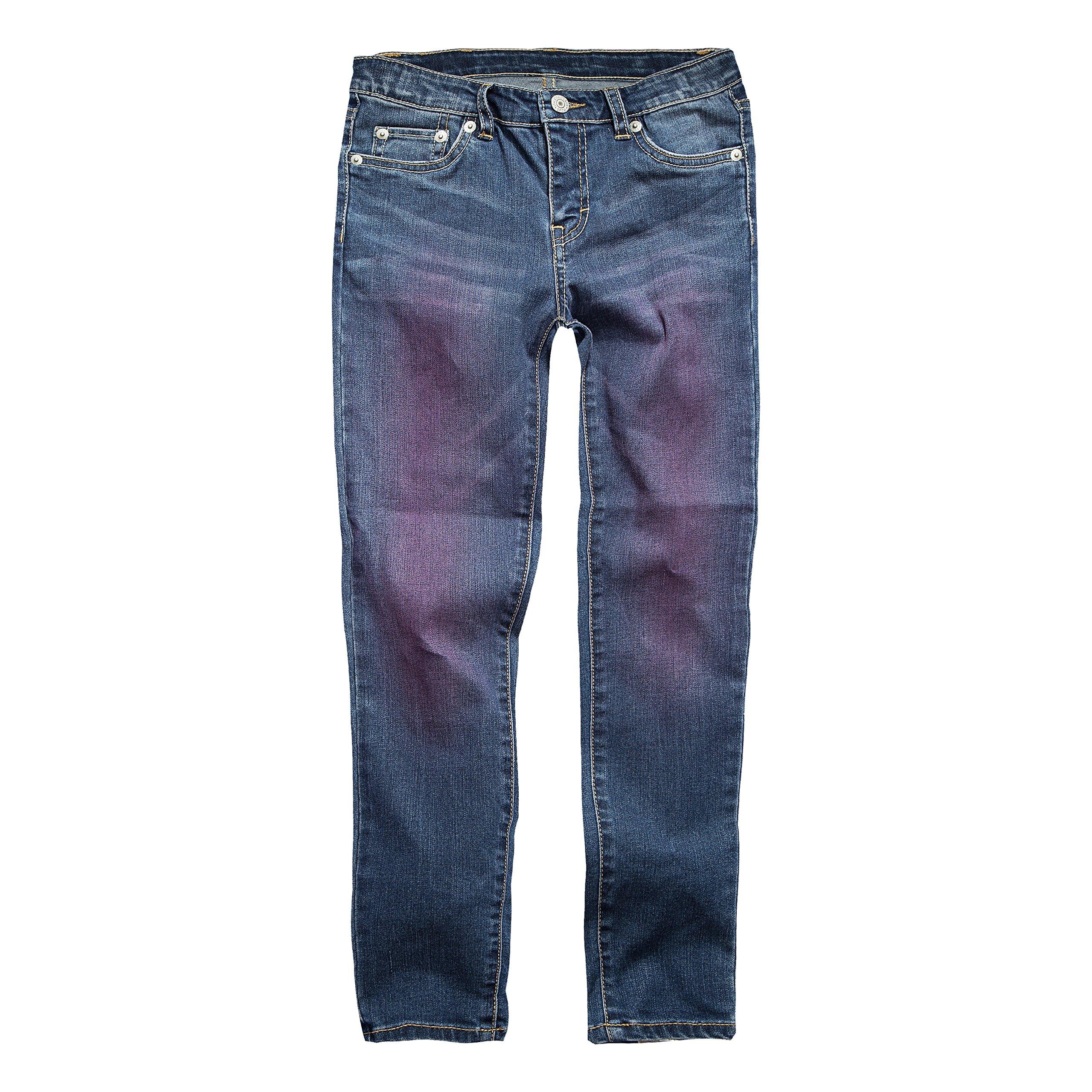 Levi's Girls' Big 710 Super Skinny Fit Jeans, Aruba