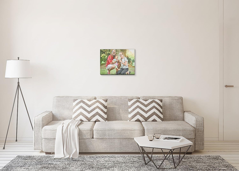 Amazon.com: Custom Photo to Canvas Print (16x20) 0.75