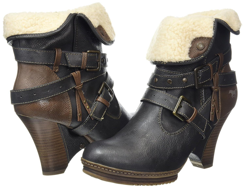 Neu 41 40 Schuhe Stiefel Damen FOR WHAT Schwarz Absatz NEU
