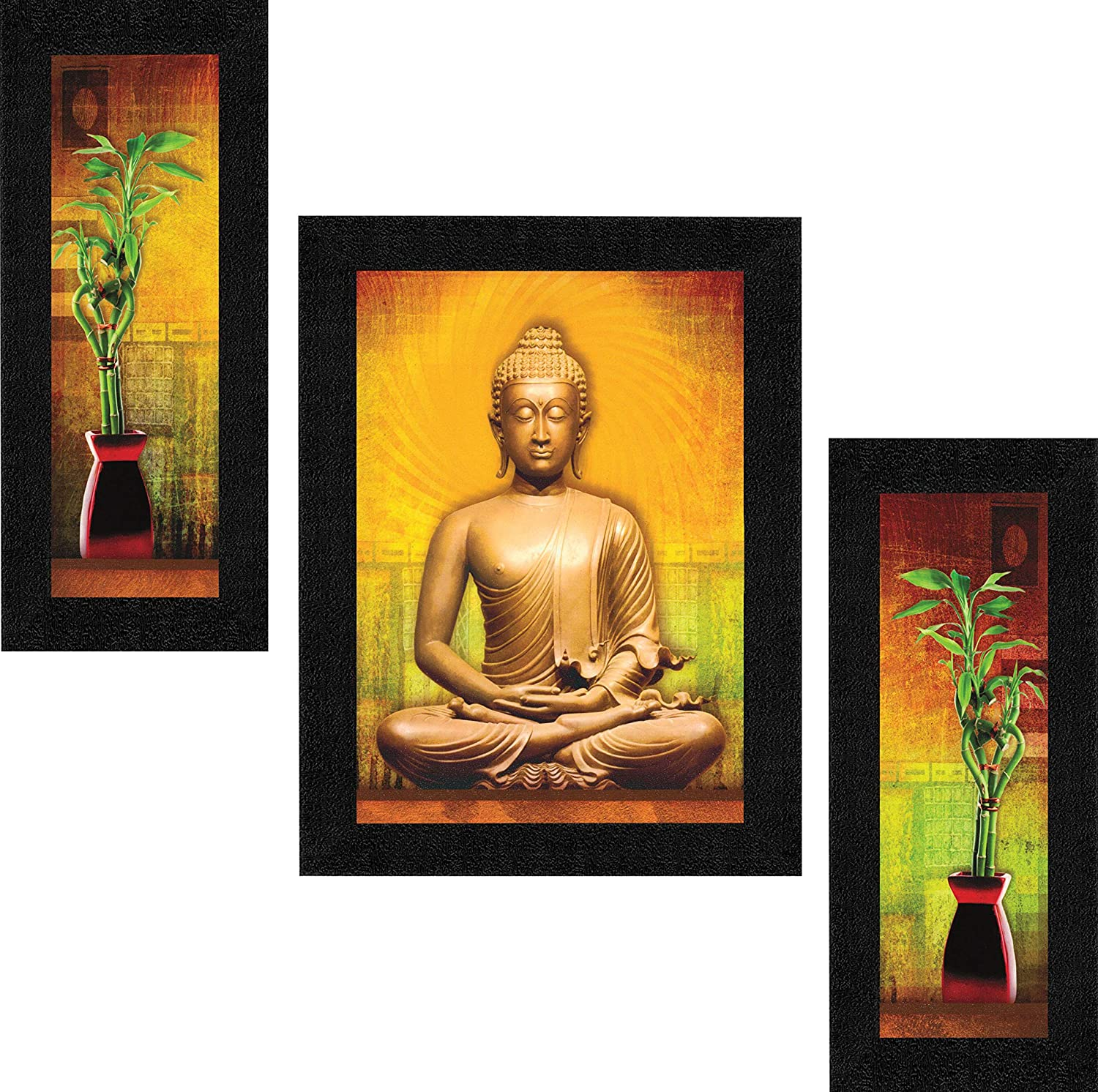 Set of 3 Buddha Home Decorative Gift Item