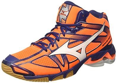 Mizuno Wave Bolt 6 Mid, Herren, Arancione (Orange Clown Fish