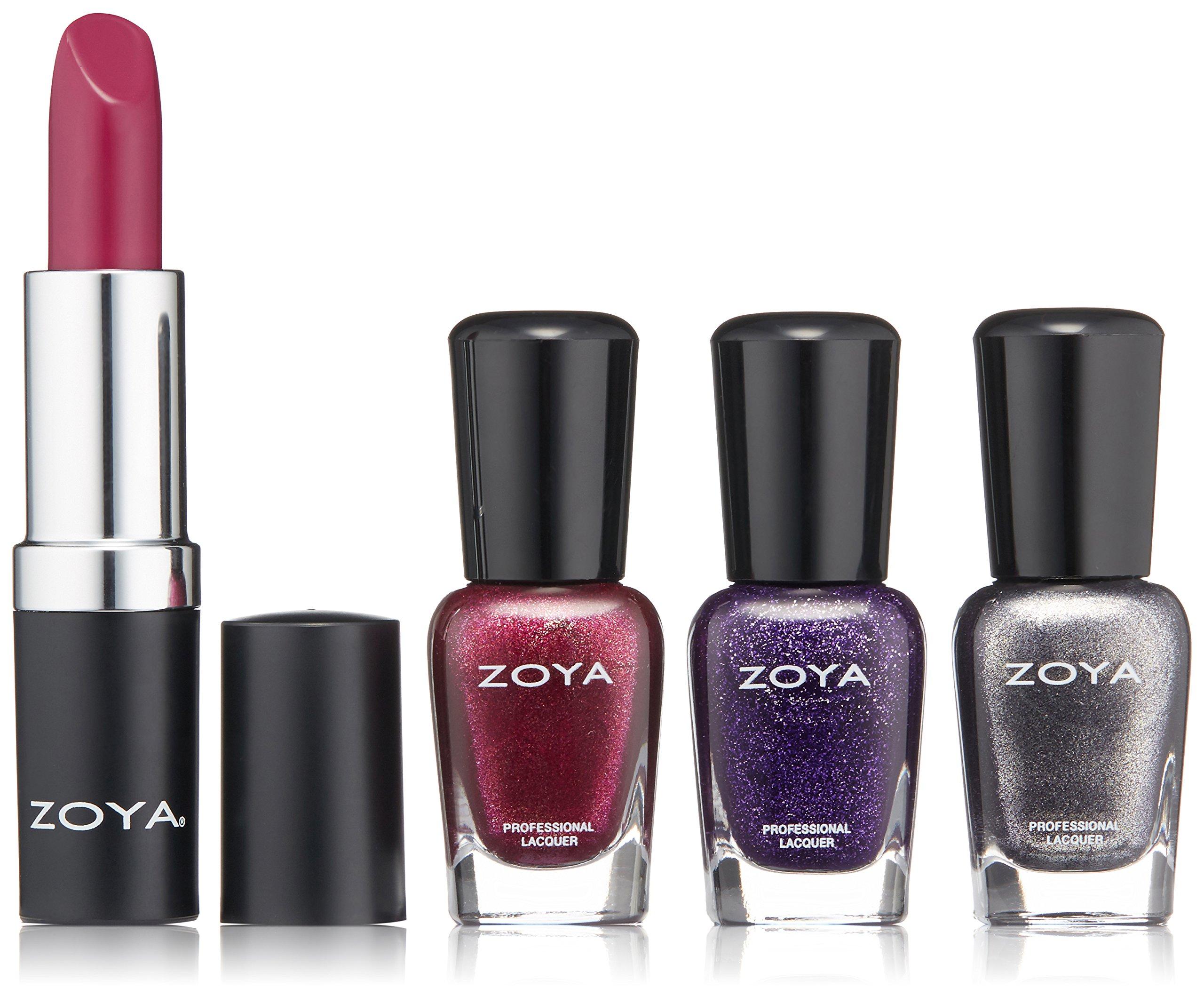 Amazon.com: ZOYA Nail Polish, Rosy Cheeks Lips & Tips Quad, 1 fl. oz ...