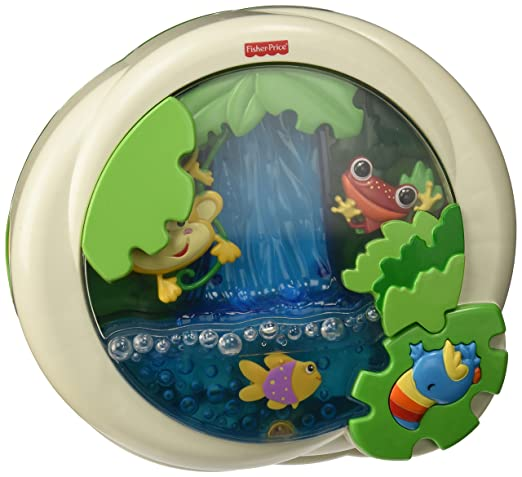 Fisher-Price Rainforest Peek-a-Boo Soother, Waterfall Review