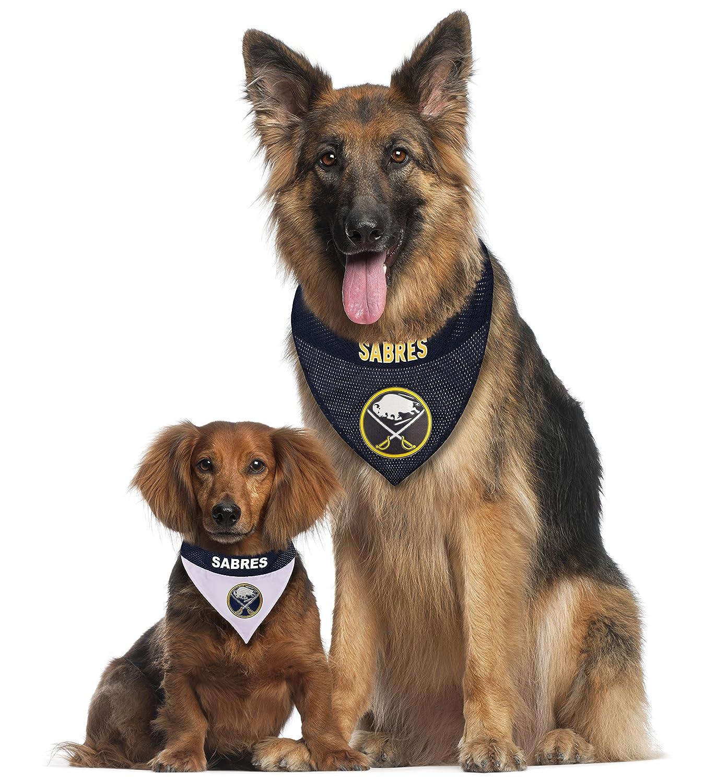 PHI Flyers Pet No-Tie Dog Bandana Over the Collar
